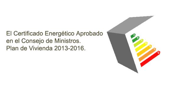 certificado energetico consejo ministros