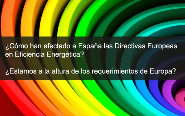 directivas europeas eficiencia energetica