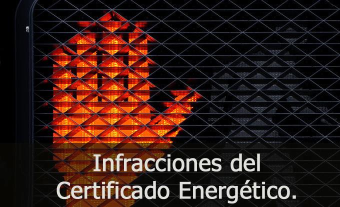 infracciones certificado energetico