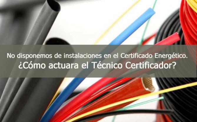 instaalciones certificado energetico
