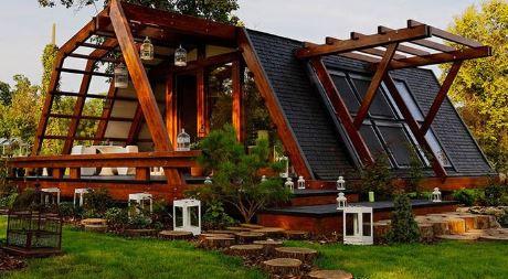 concepto de viviendas ecológicas