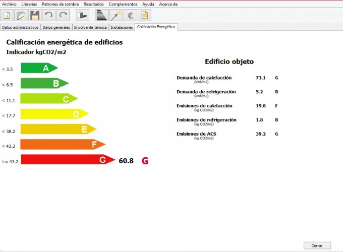 calentador electrico calificacion energetica