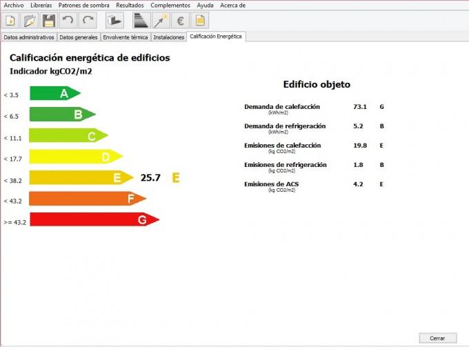 calificacion energetica calentador gas natura