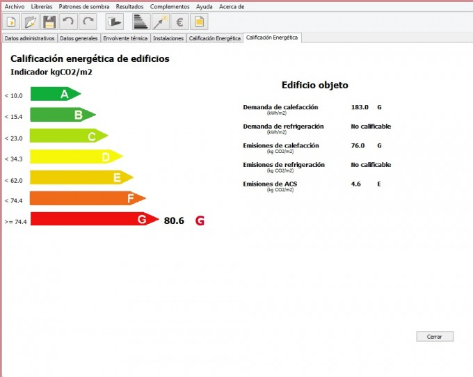 calificacion final zona climatica
