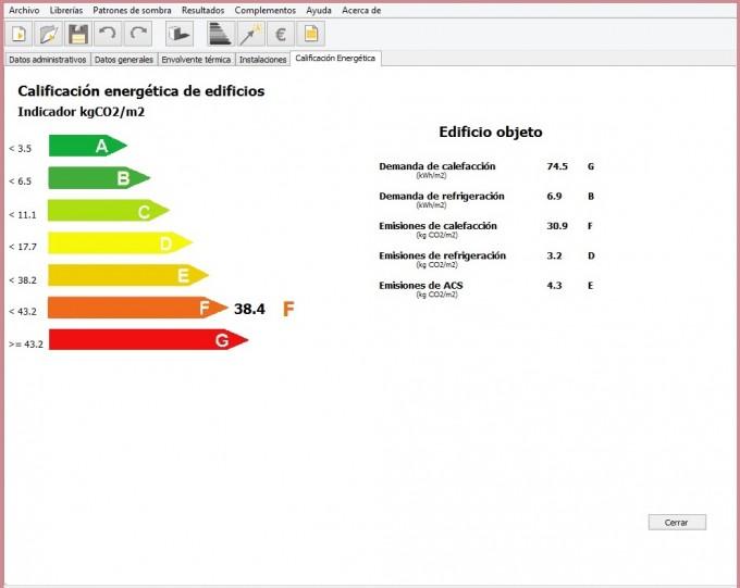 calificacion segun zona climatica