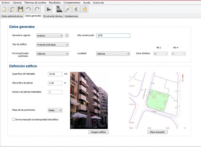 caracteristicas de la vivienda a certificar 680x497 Calificación energética y equipos de agua caliente sanitaria