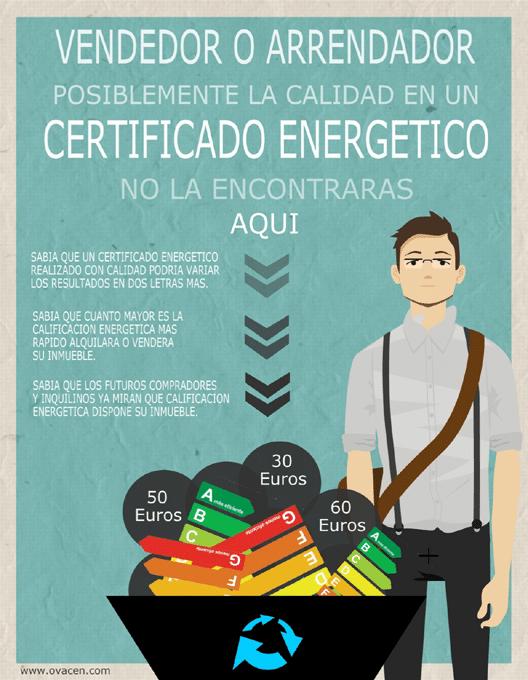 infografia calificacion energetica calidad