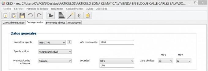 zona climatica ce3x