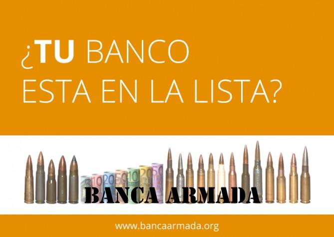 bancos que invierten armas