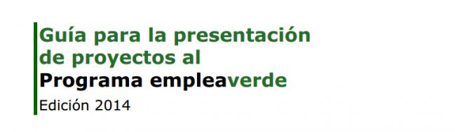 programa empleoverde 2014