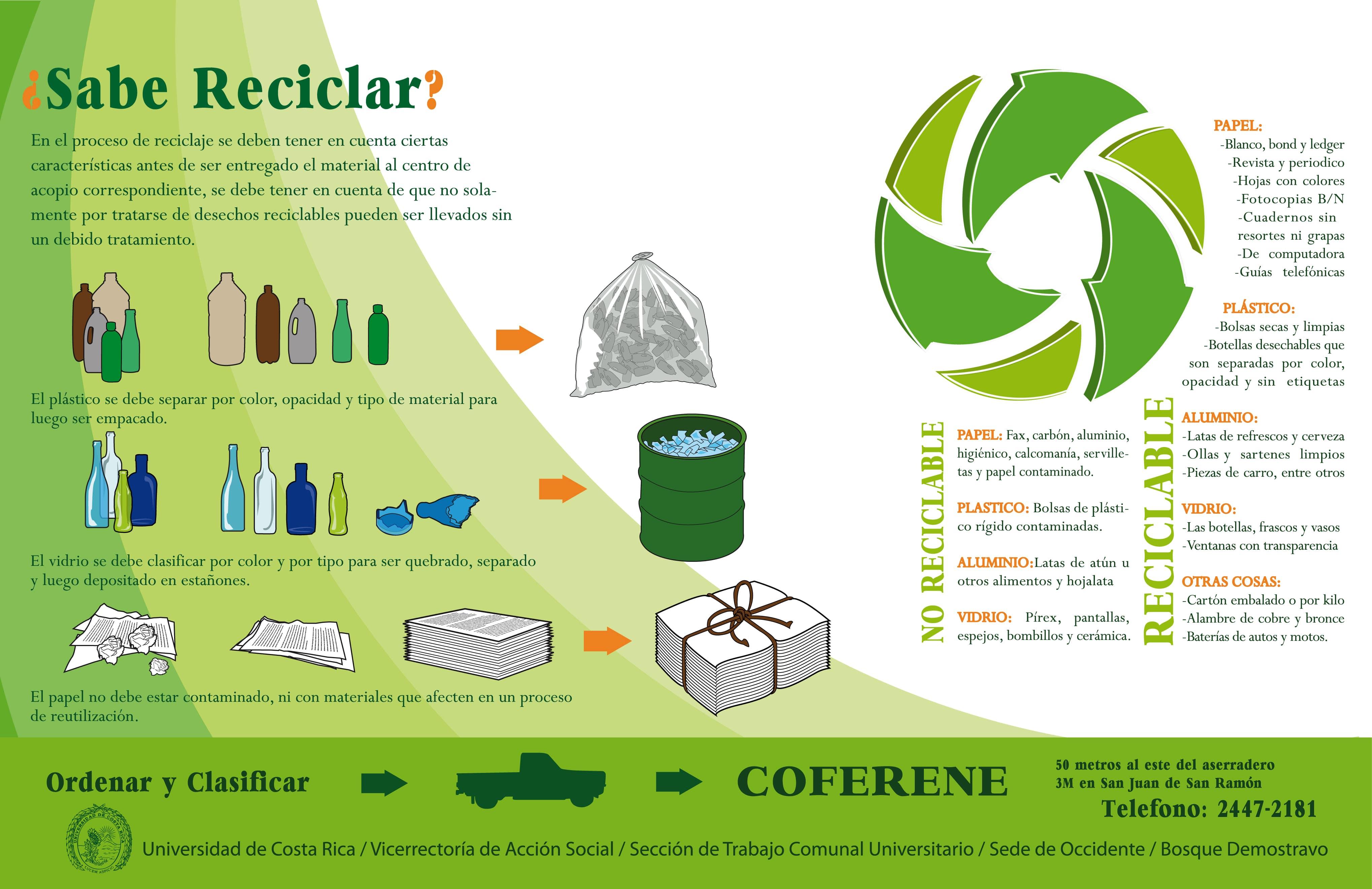sabe reciclar