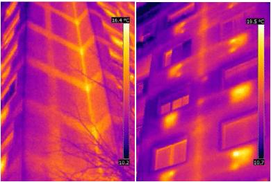 termografia edificio
