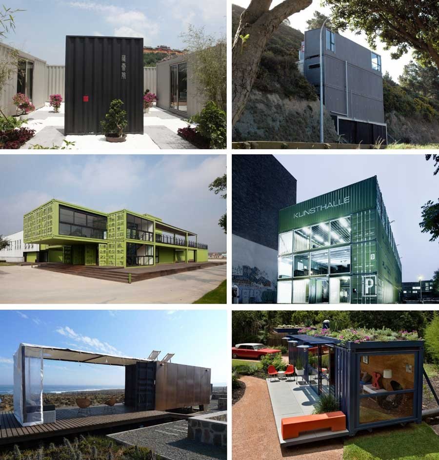 La arquitectura con contenedores an lisis ventajas y - Casa hecha con contenedores ...