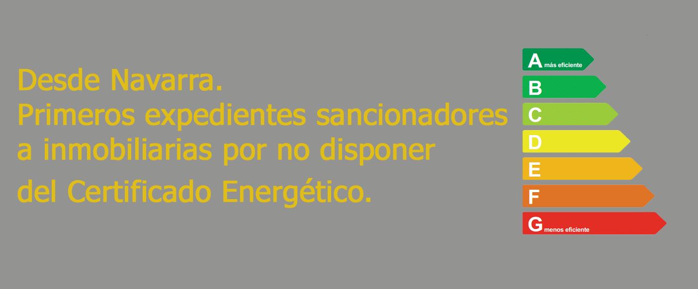 multas inmobiliarias certificado energetico