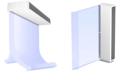 la cortina de aire