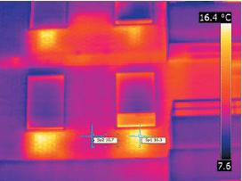 perdidas de calor termografia