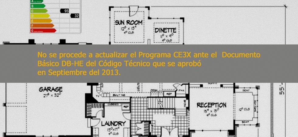 programa ce3x no se actualiza