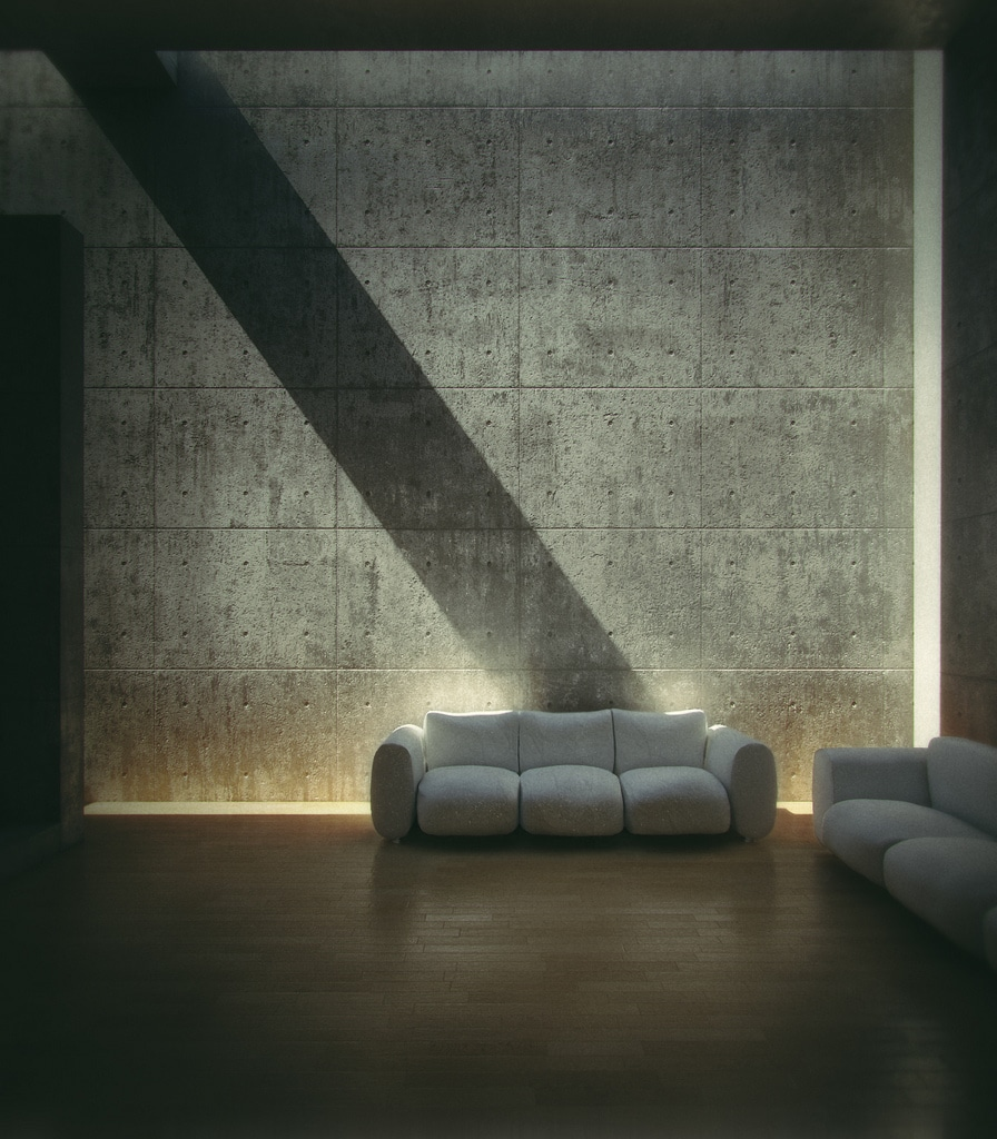 iluminacion natural Tadao Ando