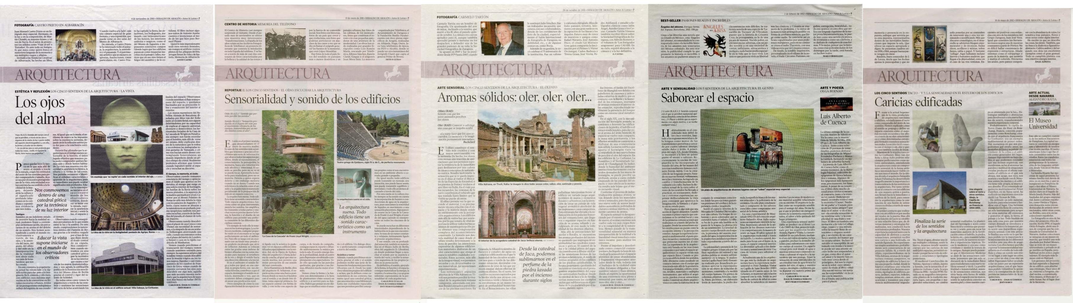 Sensibilidad sensaciones for Articulos sobre arquitectura