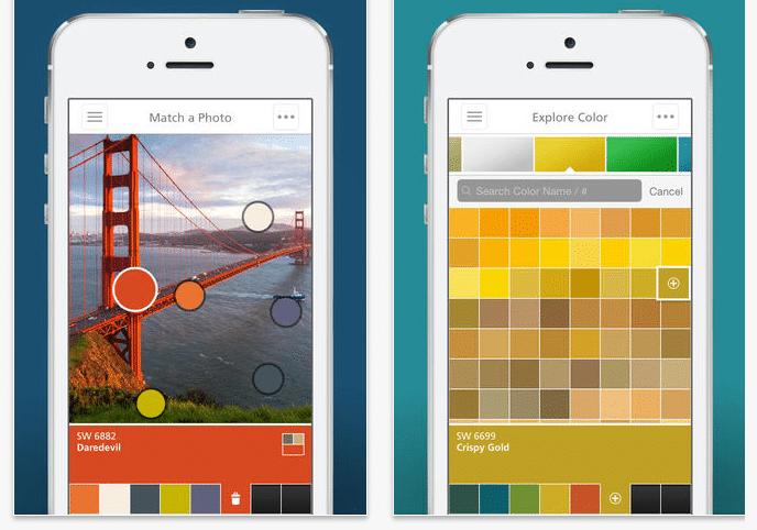 color con aplicacion app