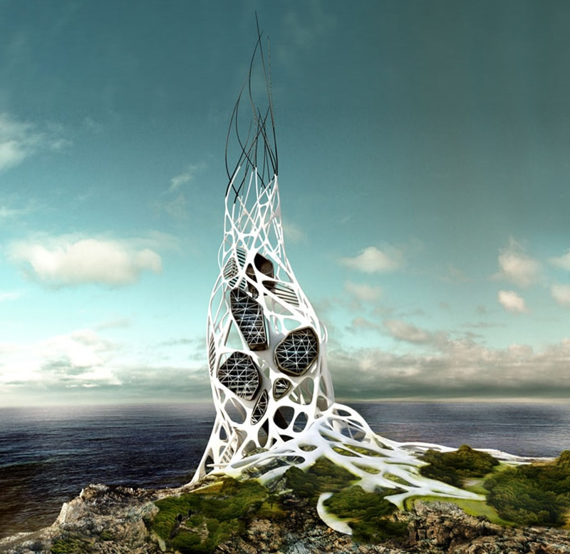 grafeno en la arquitectura
