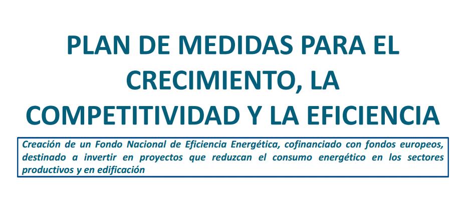 plan de medidas para reducir el consumo energetico