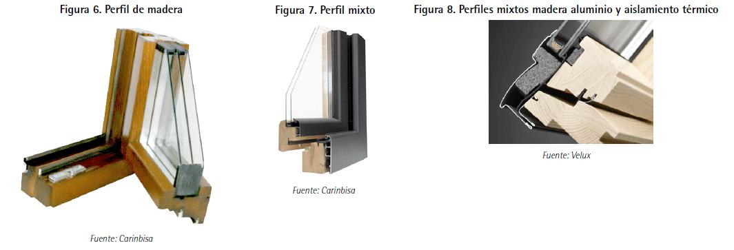 ventanas perfiles de madera tipologia Guía de ventanas ante la certificación energética de edificios
