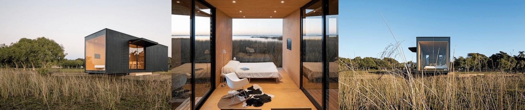vivienda modular en un contenedor