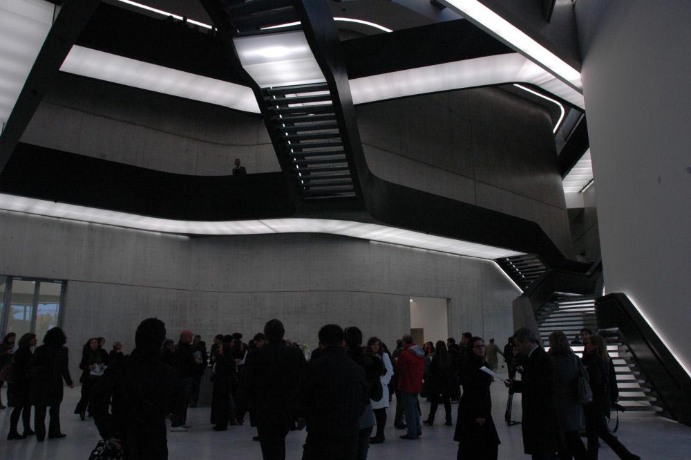 arquitectura museo maxxi