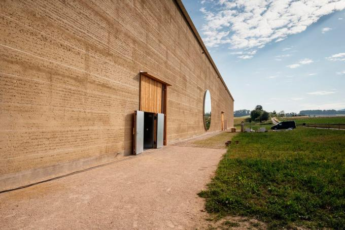 arquitectura sostenible en tierra