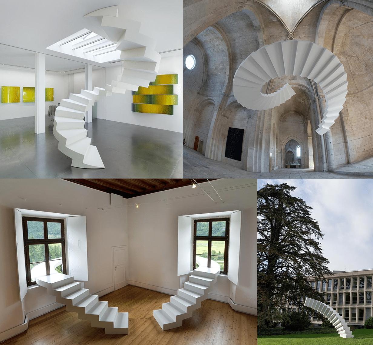 escaleras que rompen la realidad Arquitectura. Las escaleras que nunca construiré