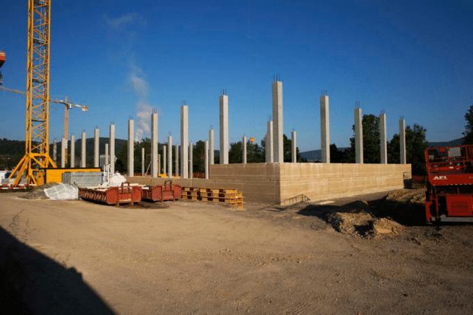 estructura de tierra