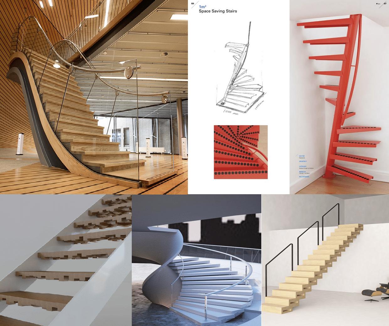 Arquitectura las escaleras que nunca construir for Tipos de escaleras arquitectura