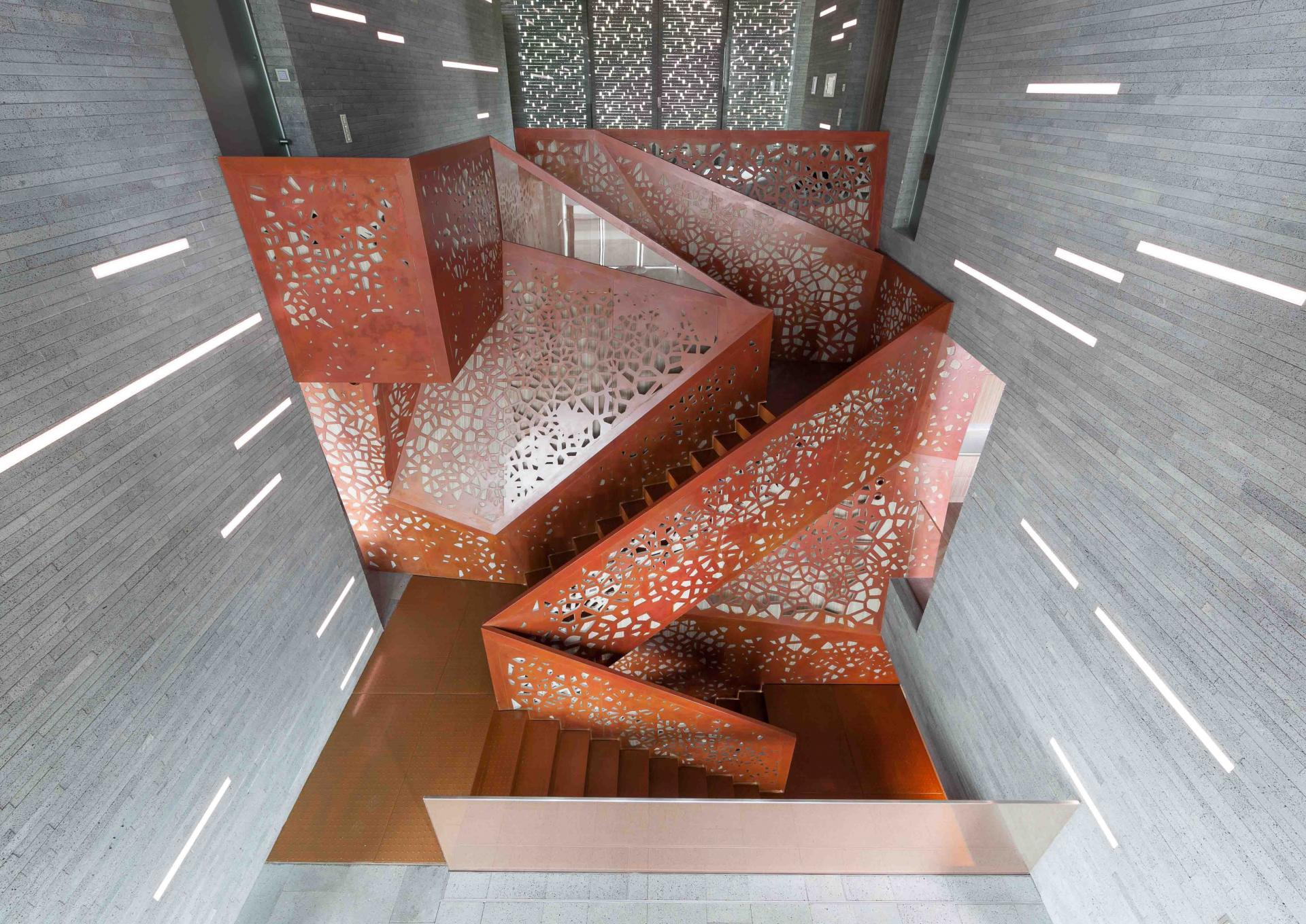 villa mallorca escalera perforada Arquitectura. Las escaleras que nunca construiré