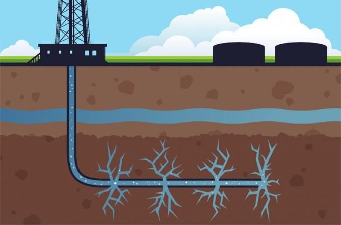 Fracking reduce el valor de los bienes