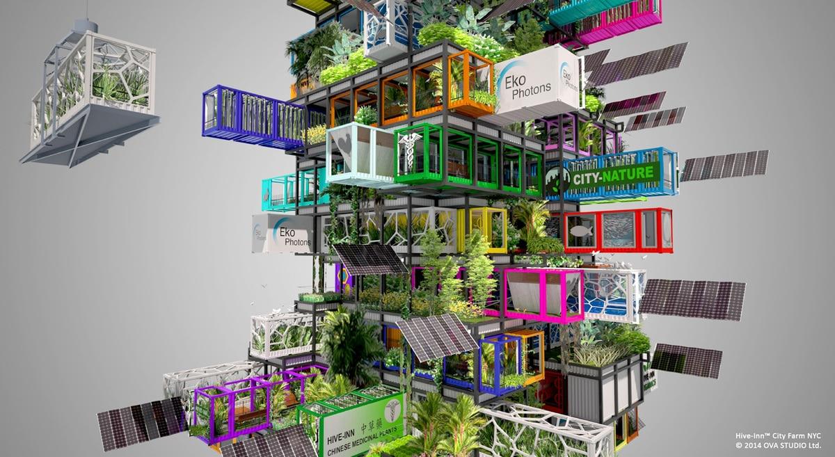 arquitectura vertical con contenedores