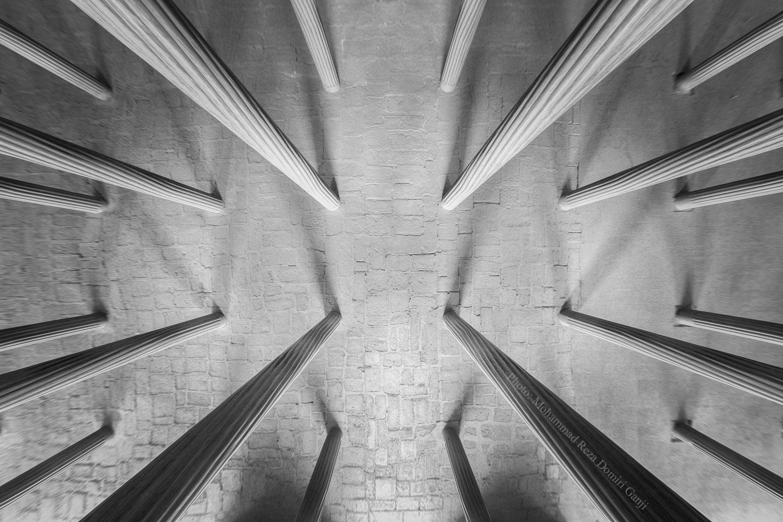 columnas vista simetrica
