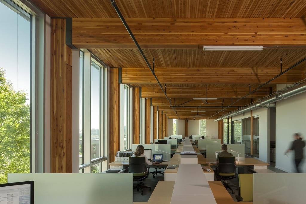 edificio de oficinas sostenibles