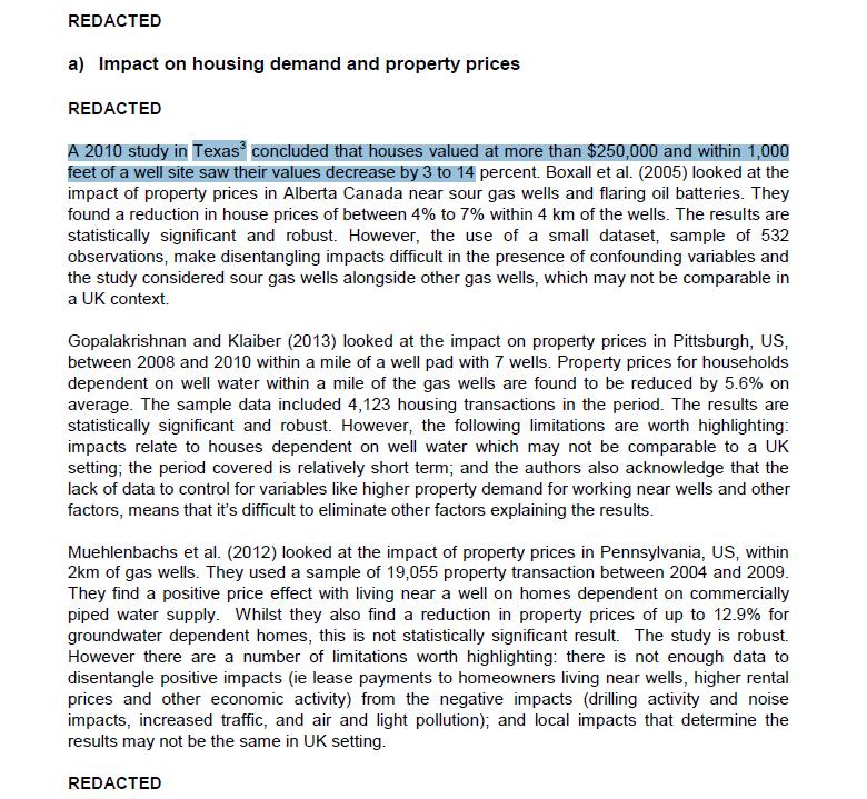 fracking abarata las viviendas