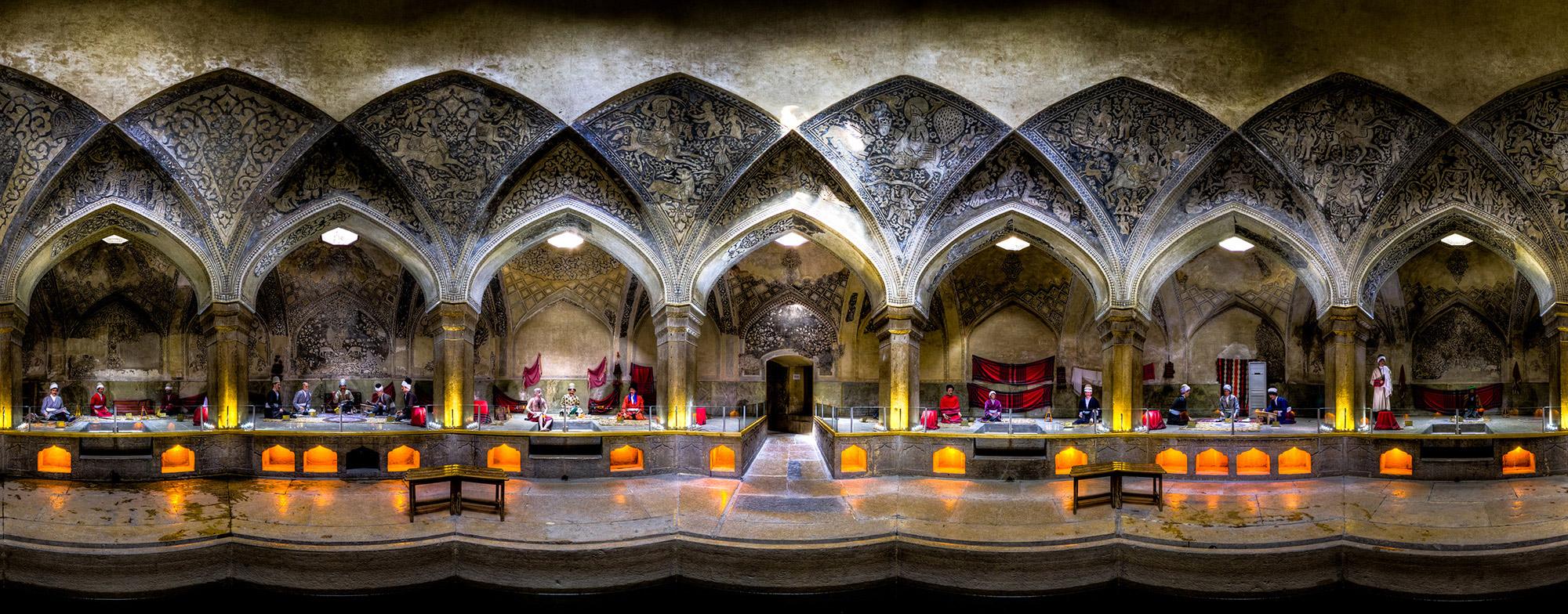 interior simetria arquitectura