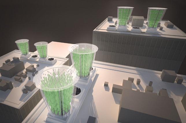 ventilacion de edificios con hojas