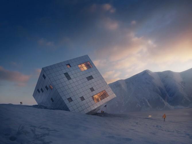 arquitectura del cubo