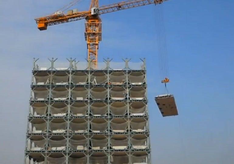 arquitectura rascacielos construccion