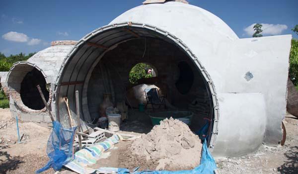 estructura casa sostenible
