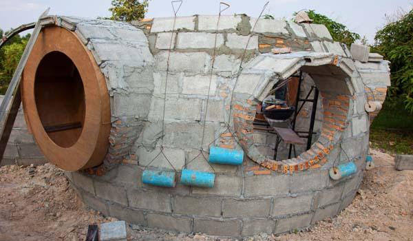 cómo construir una casa sostenible con 7.000 euros