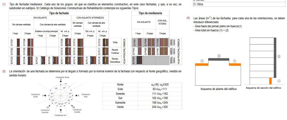 toam de datos informe evaluaicon edificios