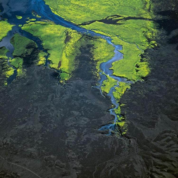 verde de la tierra