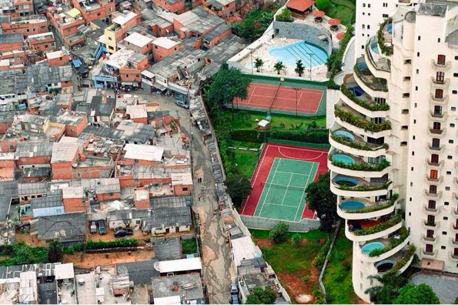 ciudades con contrastes