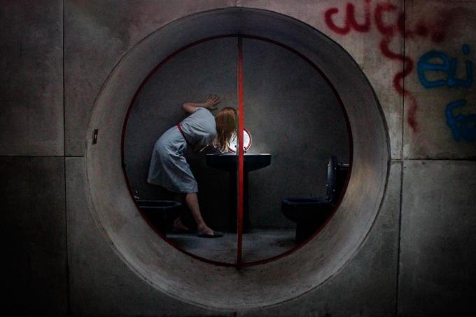 foto tunel del Fotografo Lisa Shalom