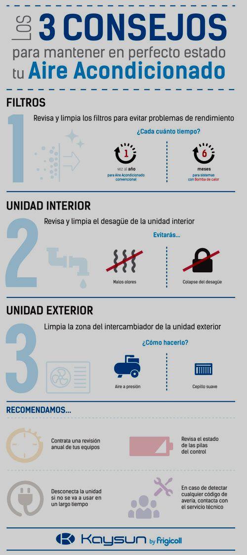 consejos mantenimiento aire acondicionado